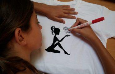 camisetas para colorear
