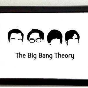 """Cuadro personalizado """"The Big Bang Theory""""."""