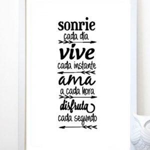 Sonríe…Vive…Ama…Disfruta