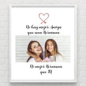 No hay mejor amiga que una hermana...